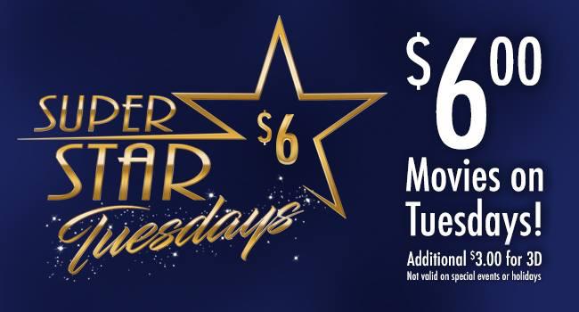 Super Star Tuesdays at Marquee Cinemas-Pullman Square